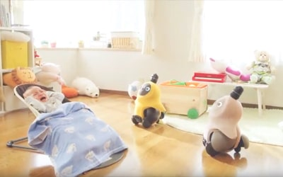 LOVOT(らぼっと) WEB-CM ②ベイビーモニター篇
